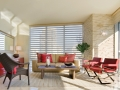 Hunter Douglas Pirouette Window Shades with PowerRise