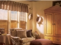 Valance with Hunter Douglas Shutters