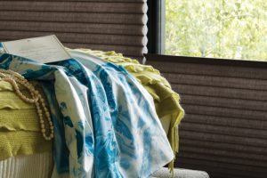 Complimentary Fabrics with Duette® Honeycomb Shades