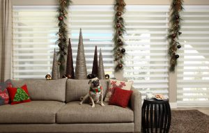 Pirouette® Window Shadings in the Living Room