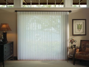 Vertical Blinds For Patio And Sliding Doors. By Innovative Window  Treatments. Luminette® Privacy Sheers
